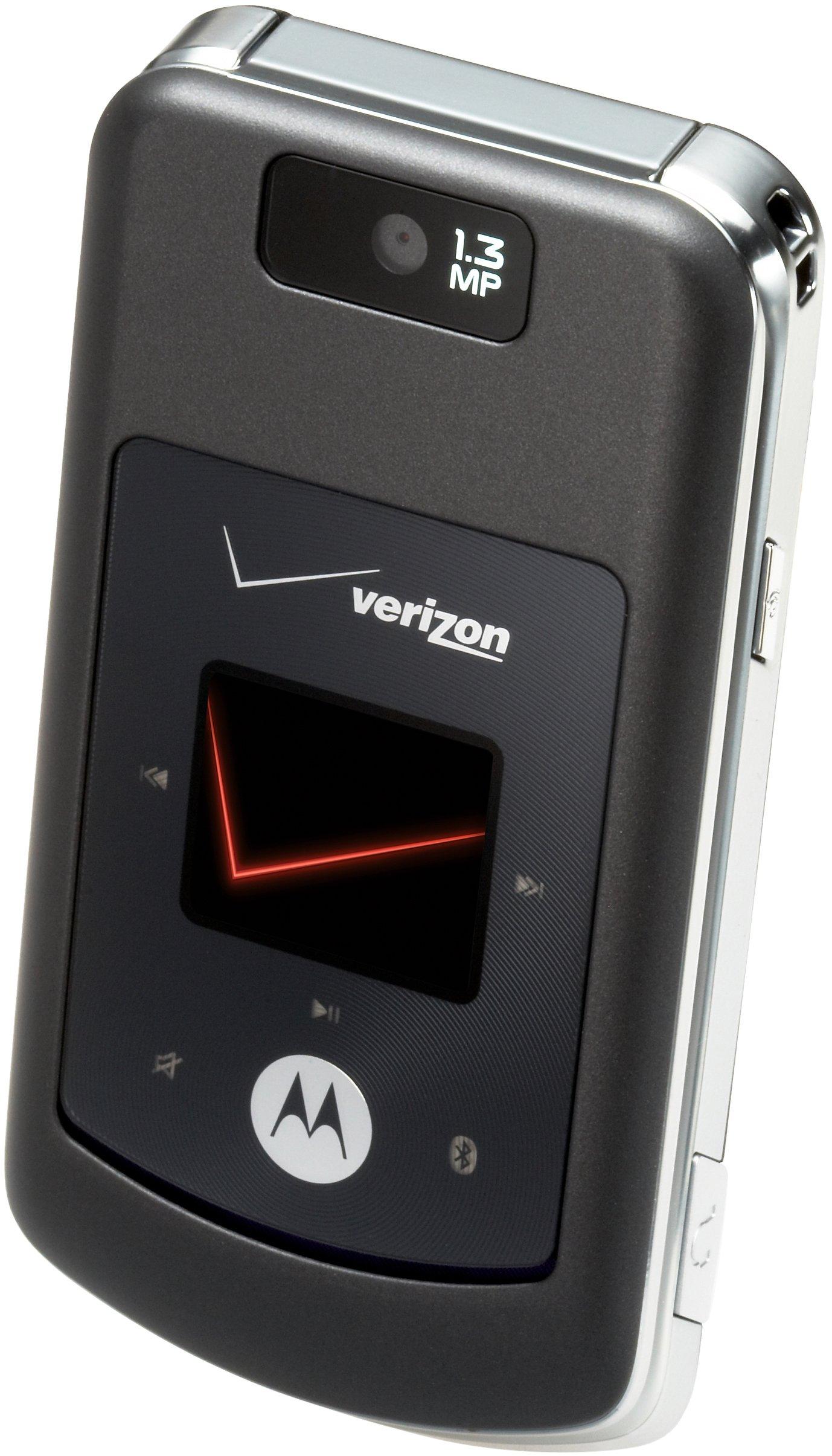 Motorola w755 Phone, Black (Verizon Wireless)