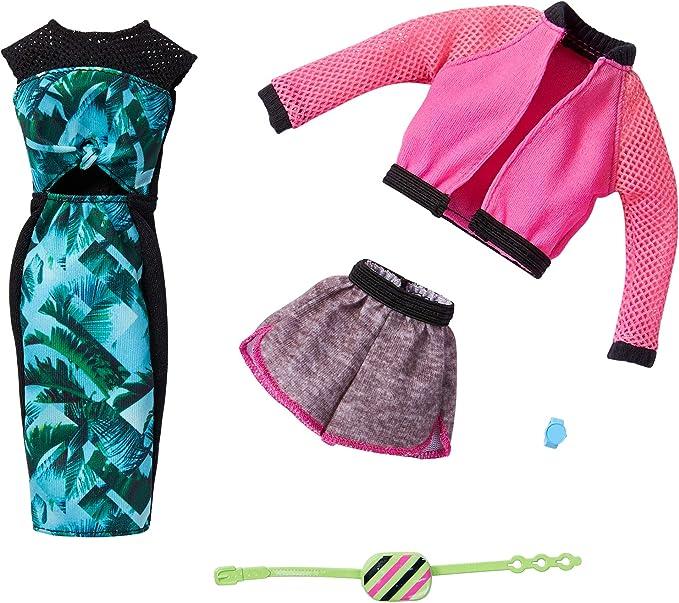 2 Pcs//Set Black Shirt Suit for Dolls Fashion Rose Pants Printed Kids/_ES