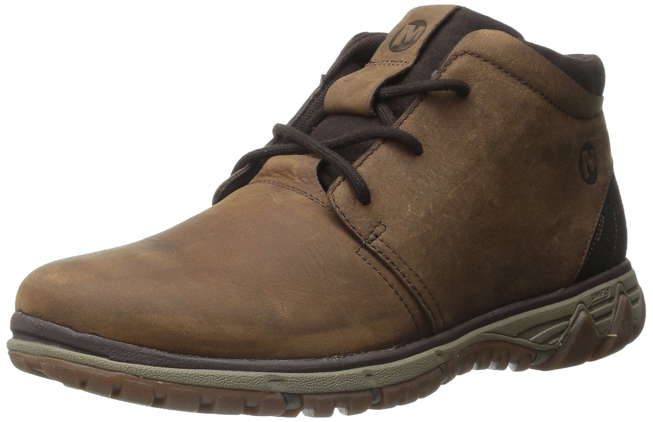 Merrell Men's All Out Blazer Chukka Lace-Up Shoe, Merrell Tan, 9.5 M US