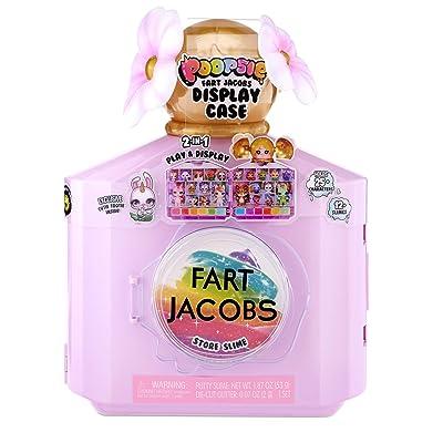 Poopsie Fart Jacobs 2-in-1 Play & Display Case: Toys & Games