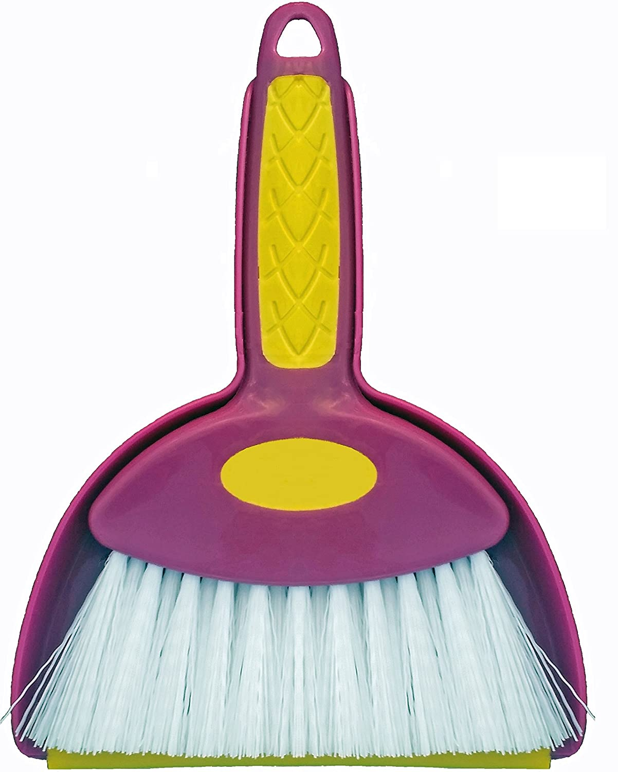 Mini Hand Whisk Broom and Snap-on Dustpan Set Available in Various Package Quantities (1, Small)