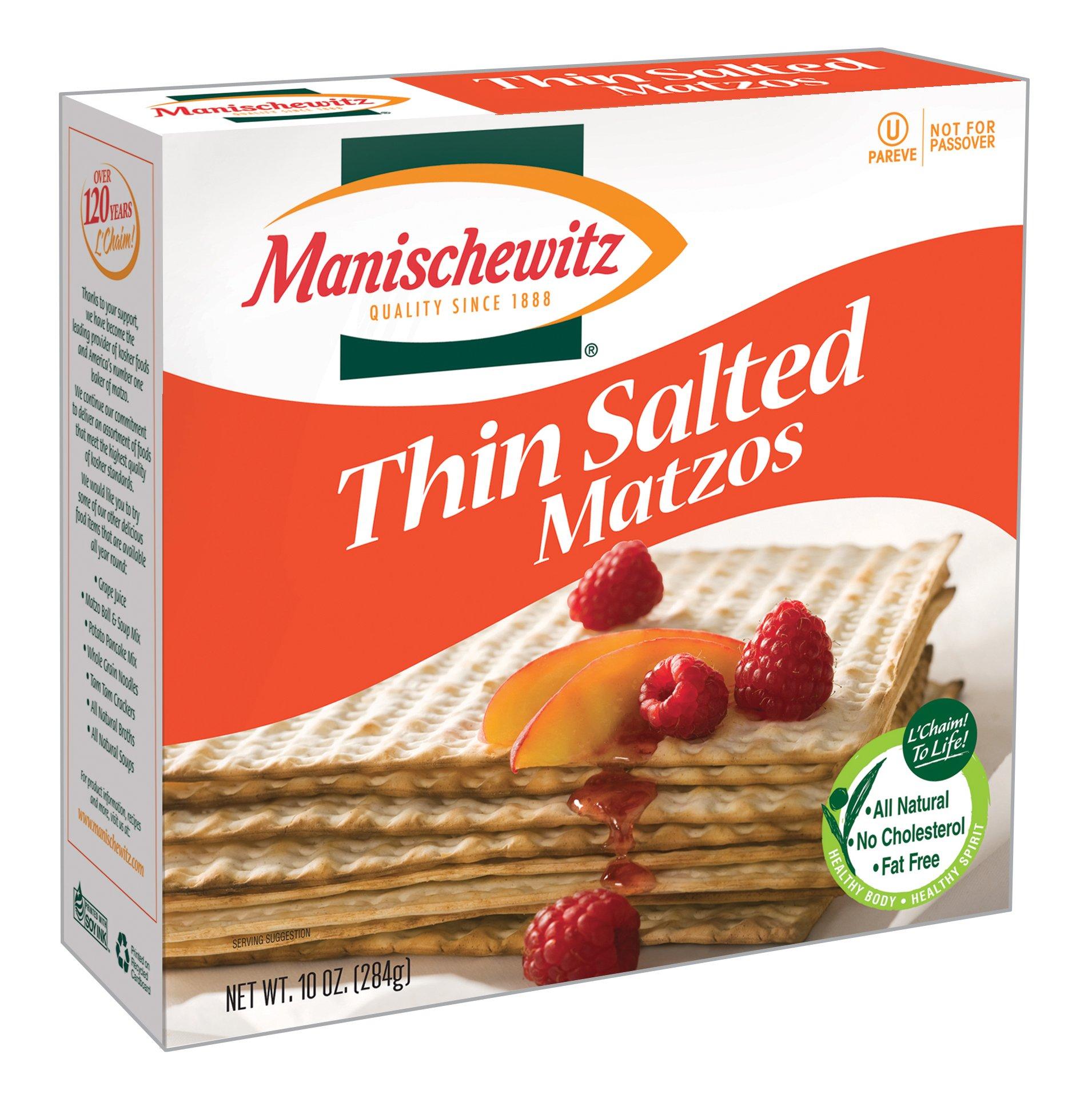 Manischewitz Matzo Thin Salted
