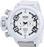 Welder -3311 K24- Montre Mixte - Quartz Chronographe - Bracelet Caoutchouc Noir