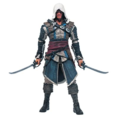 McFarlane Toys Assassin's Creed Series 1 Edward Kenway Action Figure: Toys & Games