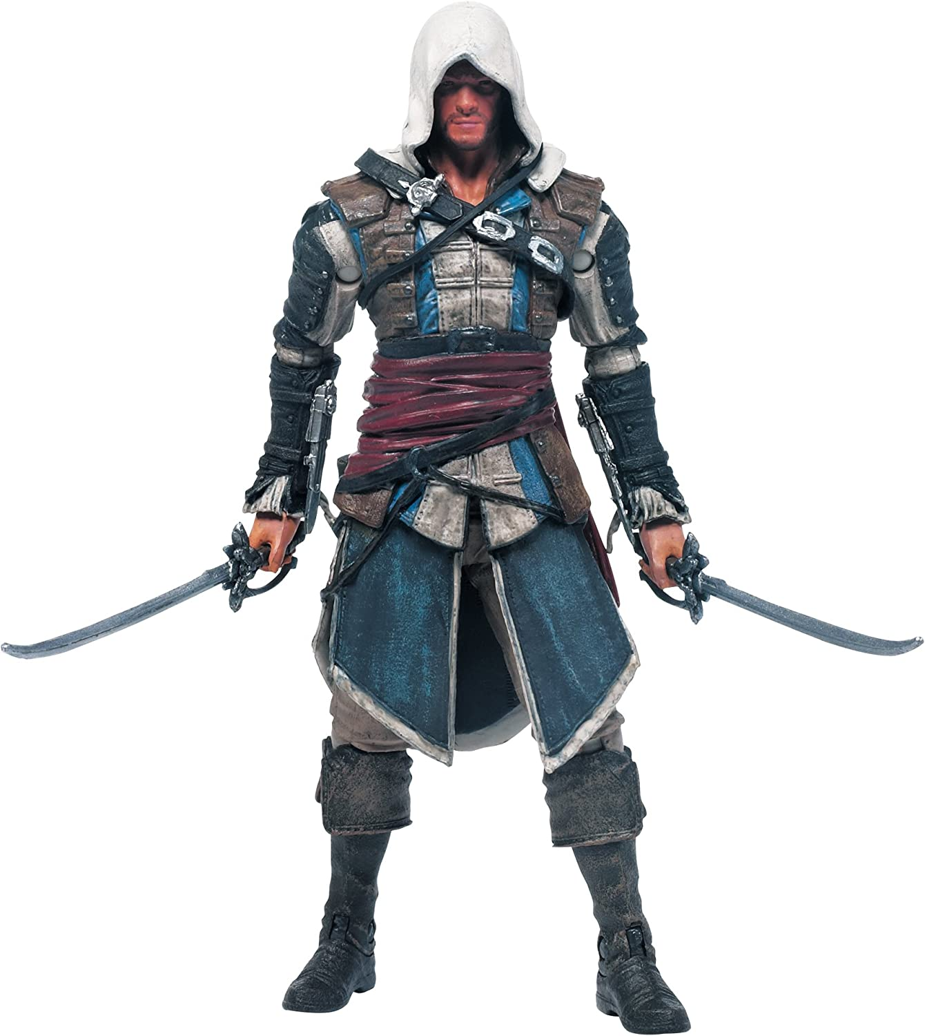 Amazon Com Mcfarlane Toys Assassin S Creed Series 1 Edward Kenway Action Figure Toys Games