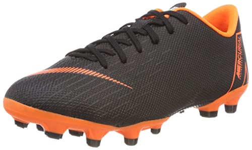 the best attitude 6db80 d395a Nike Unisex Kids Jr. Mercurial Vapor XII Academy Mg Footbal Shoes, (Black