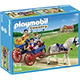 Playmobil 5226 Country Pony Farm Horse Drawn Carriage - Multi-Coloured
