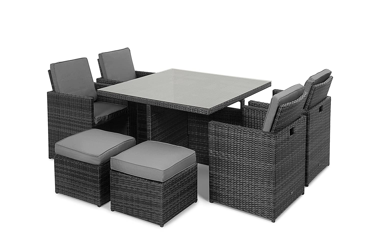 maze rattan 5 teiliges cube set g nstig kaufen. Black Bedroom Furniture Sets. Home Design Ideas