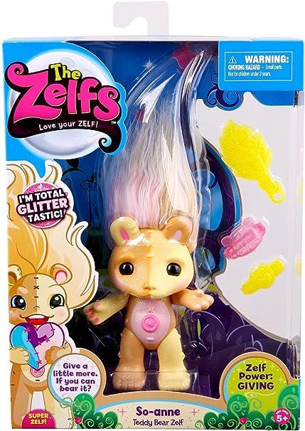 The Zelfs-Crystal Gemz-So-Anne-Teddy Bear Zelf-Neuf