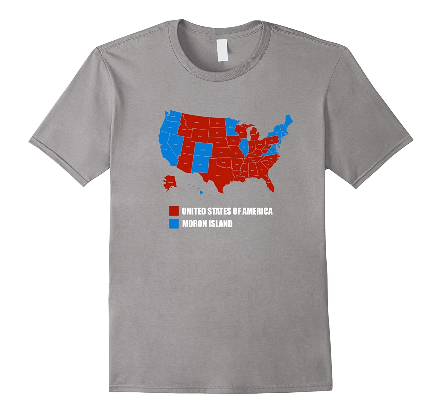 Funny T-Shirt: RED USA Election 2016 T Shirt Vote Trump Tee-Teevkd
