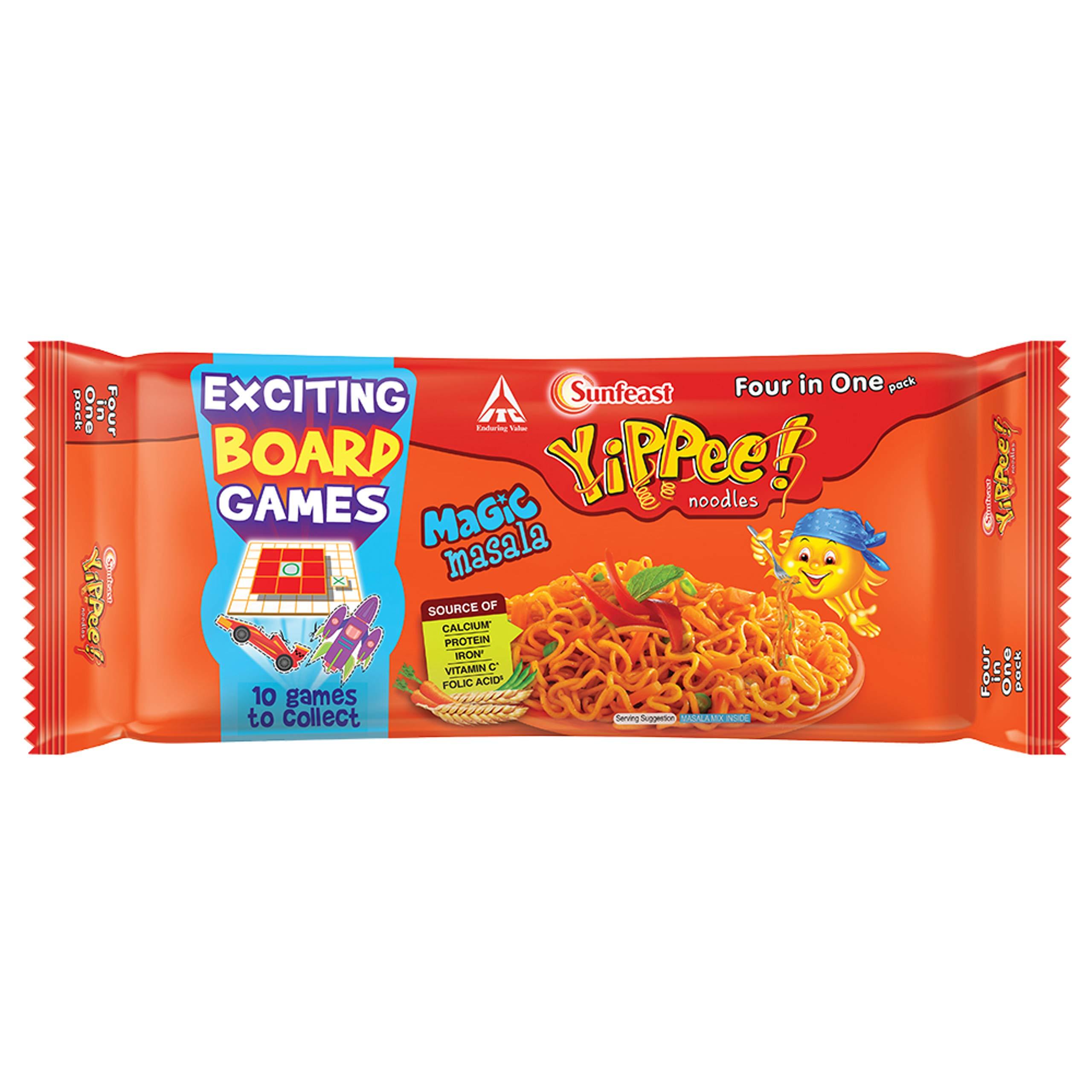 Sunfeast Yippee Noodles - Magic Masala, 240g Pack