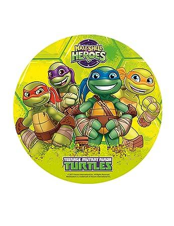 Ninja Turtles Edible Image Cake Topper Wafer Disc 8