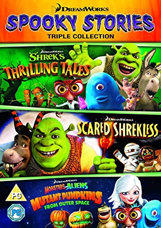 Amazon com: Dreamworks: Spooky Stories Collection (Scared