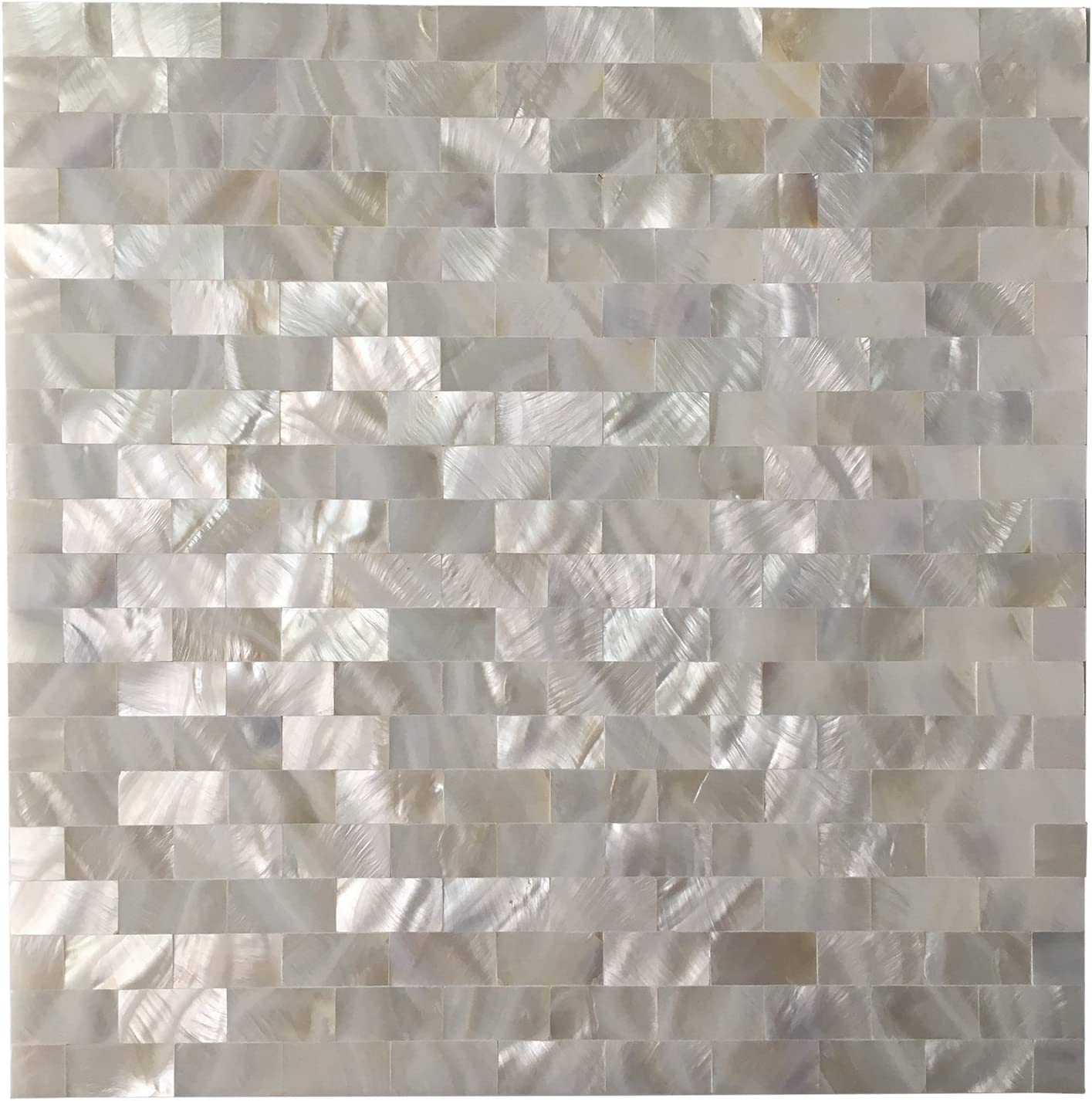 - Amazon.com: Art3d Mother Of Pearl Shell Tile For Kitchen