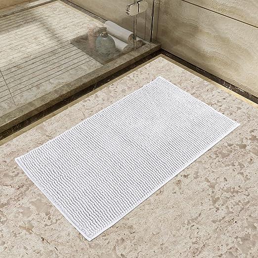 Lifewit Tappeto da Bagno Doccia Tappeti da bagno in Microfibra Ciniglia Antiscivolo