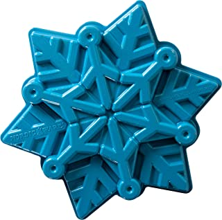 product image for Nordic Ware Disney Frozen 2 Cast Snowflake Cake Pan, 6-Cups, Blue