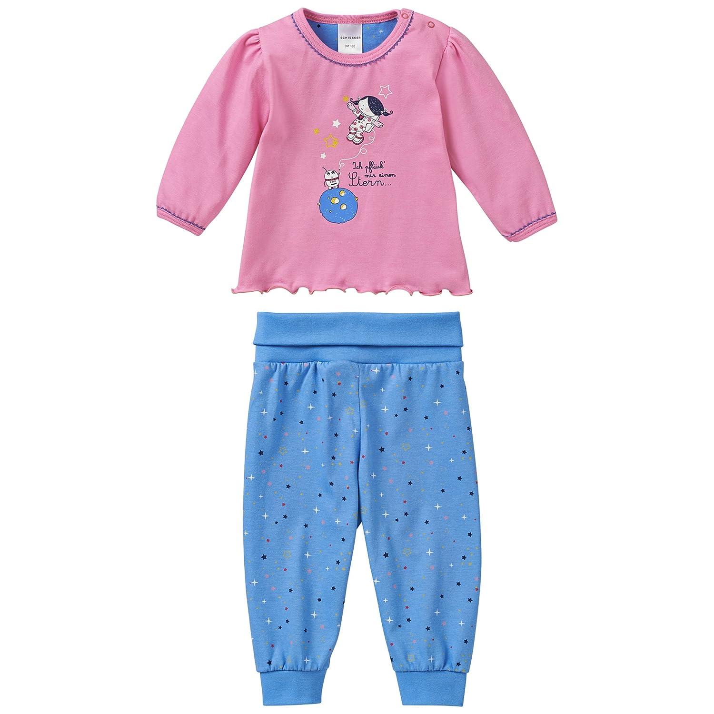 Schiesser Baby-Mädchen Zweiteiliger Schlafanzug Schiesser AG 143751