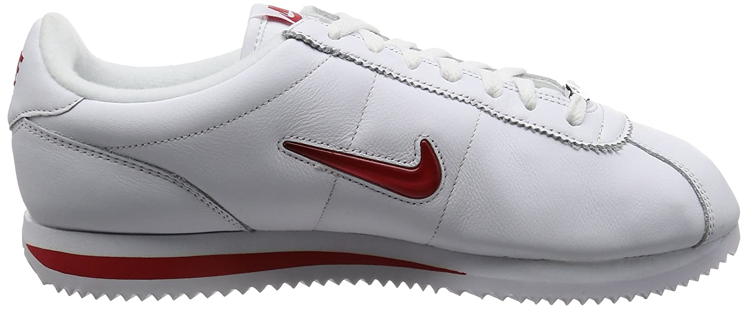 the best attitude 58032 9cff0 Amazon.com  Nike Men Cortez Basic Jewel Qs (WhiteUniversity red)   Basketball