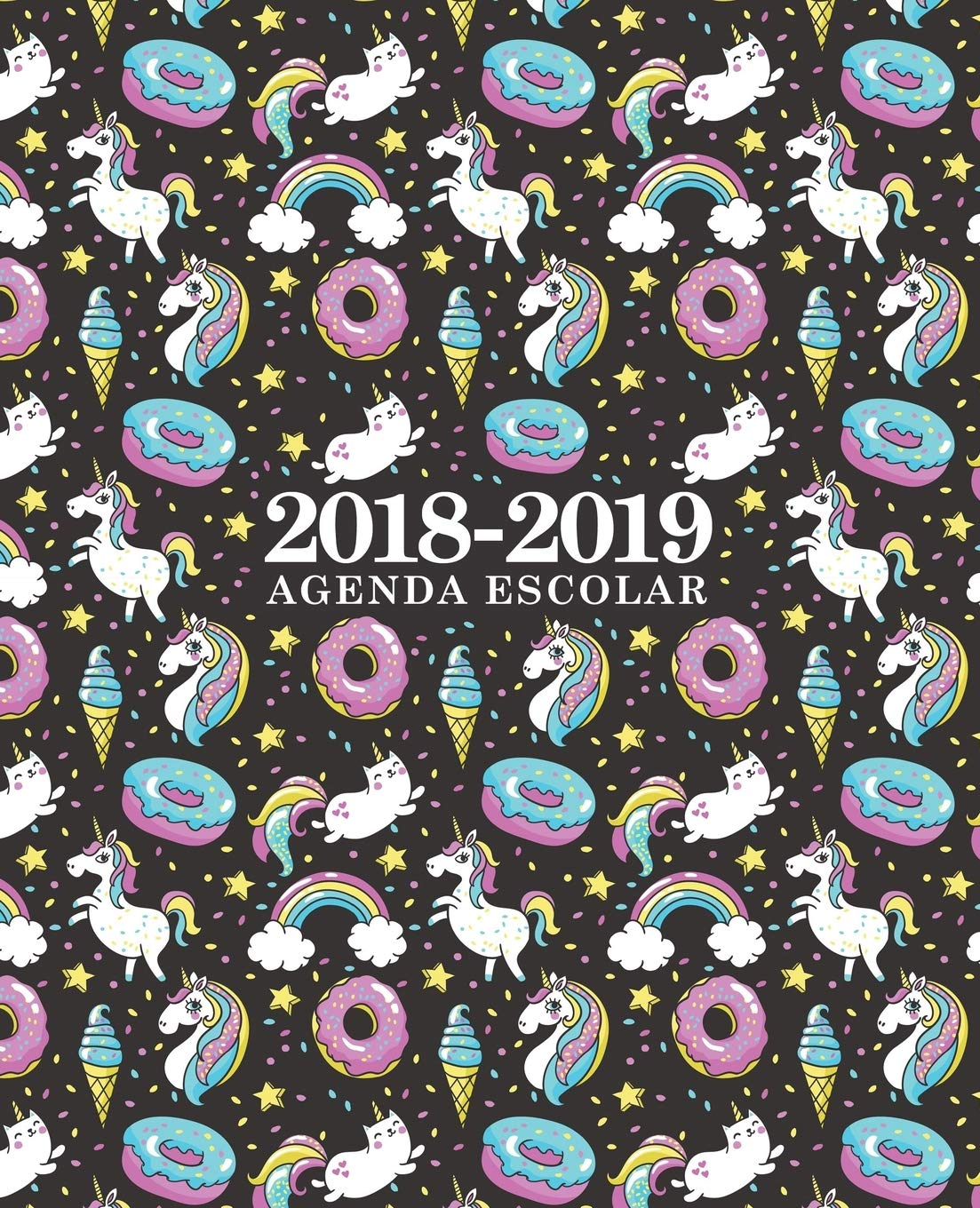 Amazon.com: Agenda escolar 2018-2019: 190 x 235 mm: Agenda ...