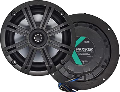 Kicker 41KM marine speakers