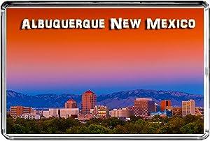 USA E413 Albuquerque New Mexico Fridge Magnet Travel Photo Refrigerator Magnet