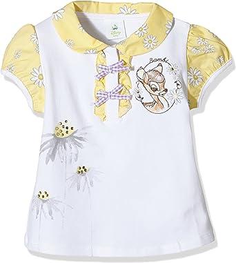 Brums All Over Bambi, Polo para Bebé-Niñas, Blanco (OPTICAL WHITE ...