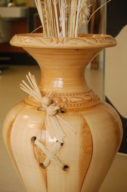 Edle Große Vasebodenvase Aus Tonkeramik Handarbeit Deko Shop