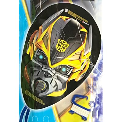 "Transformers Bumblebee FaceKite 20"" Tall Face Shaped Kite: Toys & Games"
