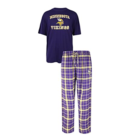 Amazon.com   Concepts Sport Minnesota Vikings Halftime Men s Sleep ... 390fce9b1