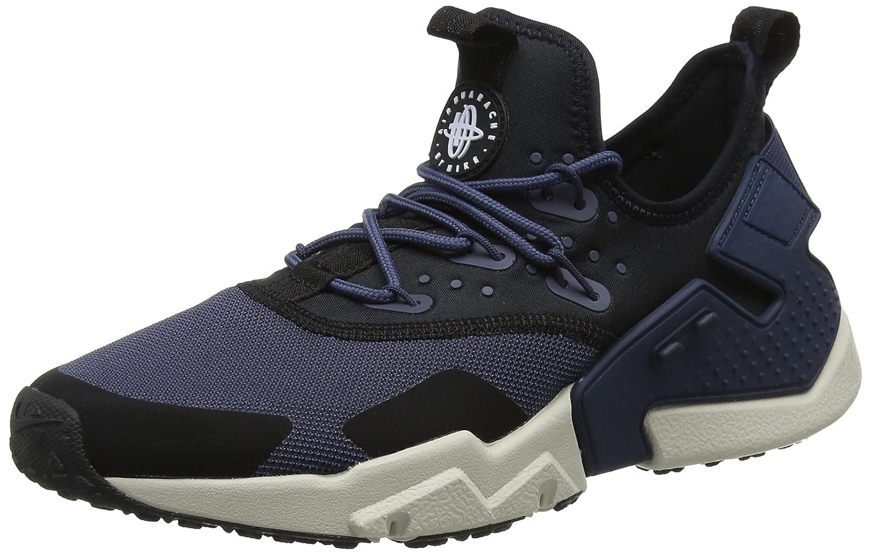 new products 98629 cf320 Nike Mens Air Huarache Drift Thunder Blue Black Mesh Trainers 9 US