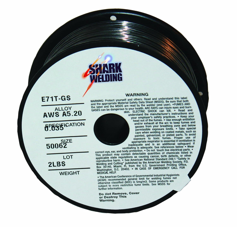 Shark Welding 12008 Flux-Core Mig Wire E71T-GS .030 - 2 lbs. - Arc ...