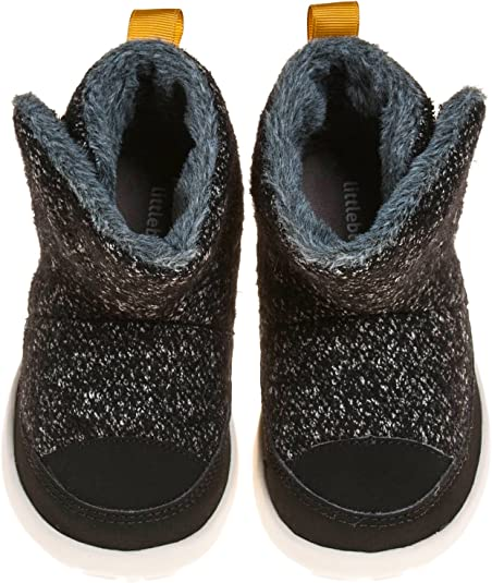 Little Blue Lamb Squeaky Boots Shoes Light Brown Leather Plush New