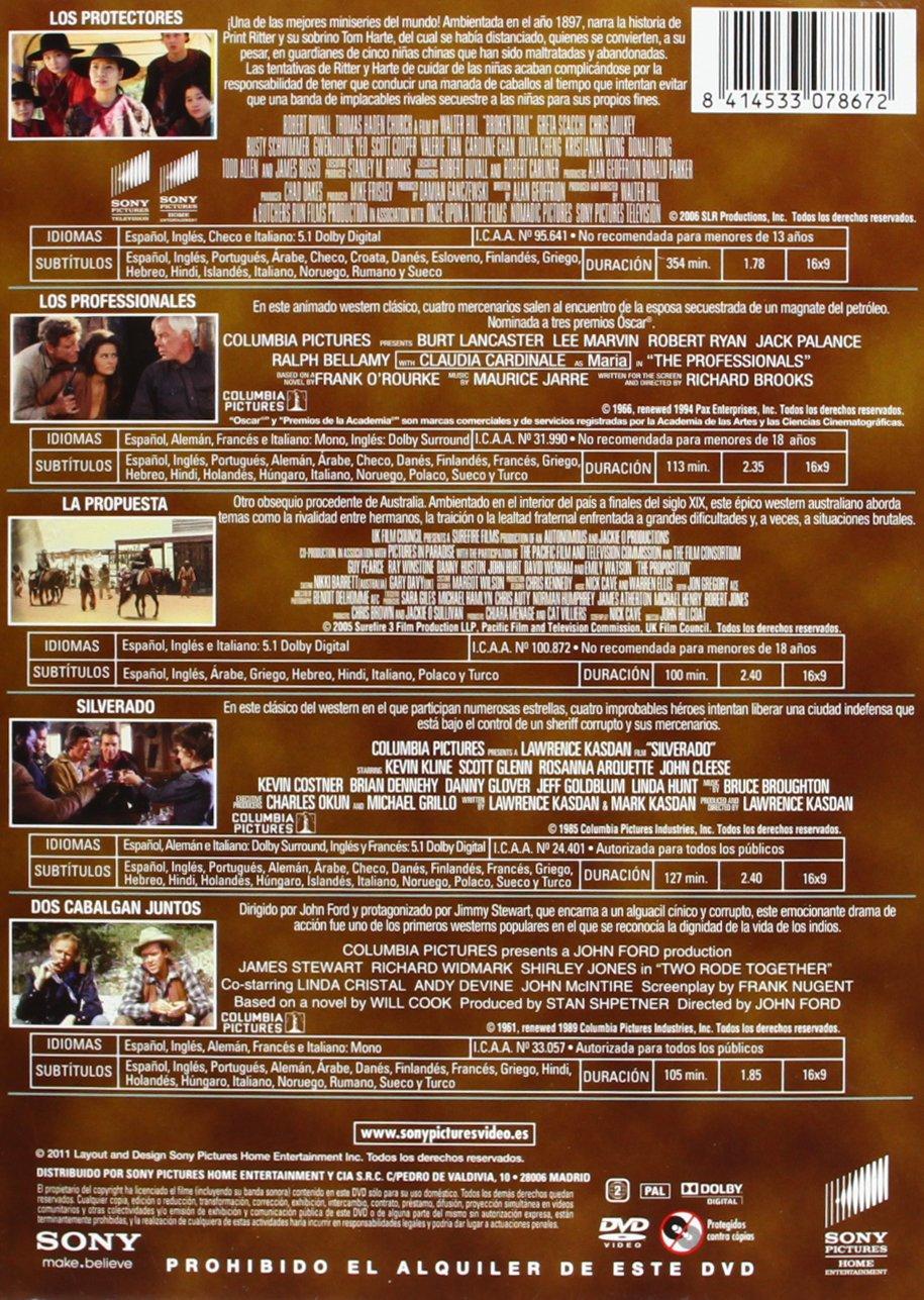Pack western I [DVD]: Amazon.es: Burt Lancaster, Lee Marvin, Kevin ...