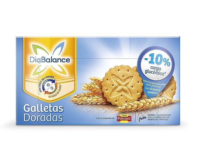 DiaBalance Galleta Dorada - Caja de 6 paquetes con 4 galletas - Total 144 g