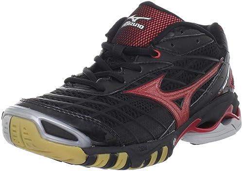 Mizuno Wave Lightning RX Zapatillas de Voleibol para Mujer, Negro (Negro/Rojo), 10 B(M) US: Amazon.es: Zapatos y complementos