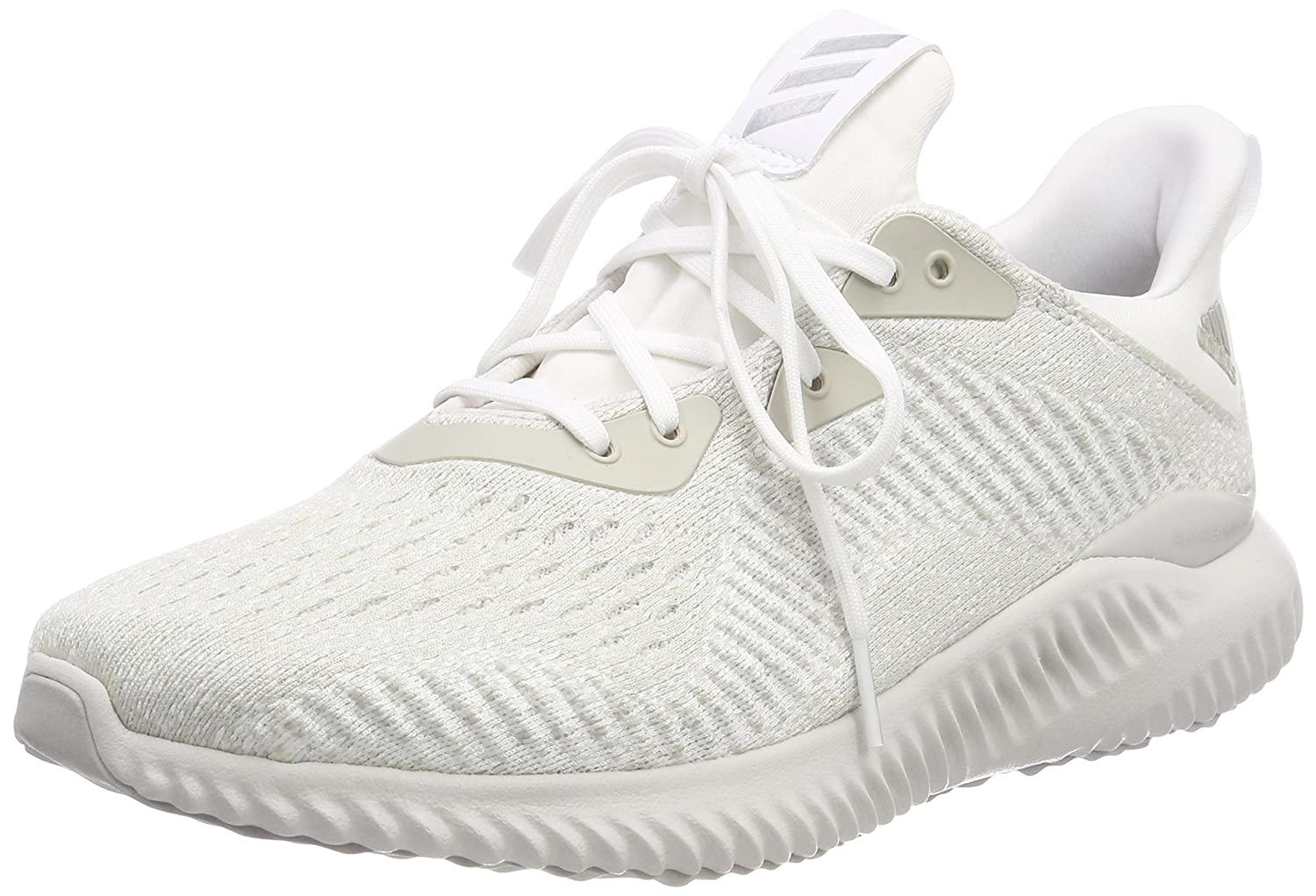 innovative design d50e7 e0cee Amazon.com  adidas AlphaBounce EM Mens Running Shoes - White-UK 9  Road  Running