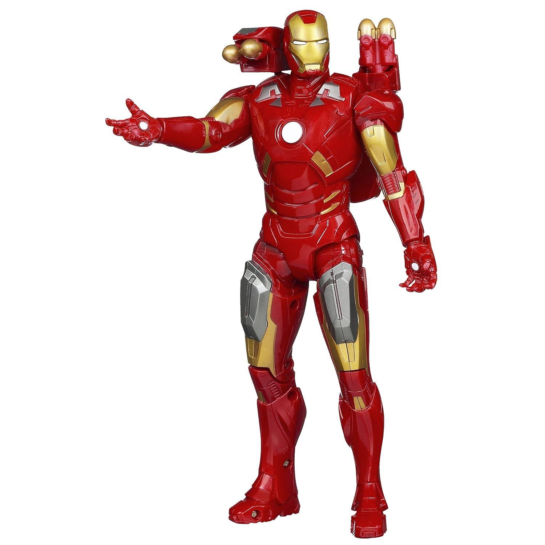 Amazon.com: Marvel Avengers Repulsor Strike Iron Man Mark VII: Toys ...