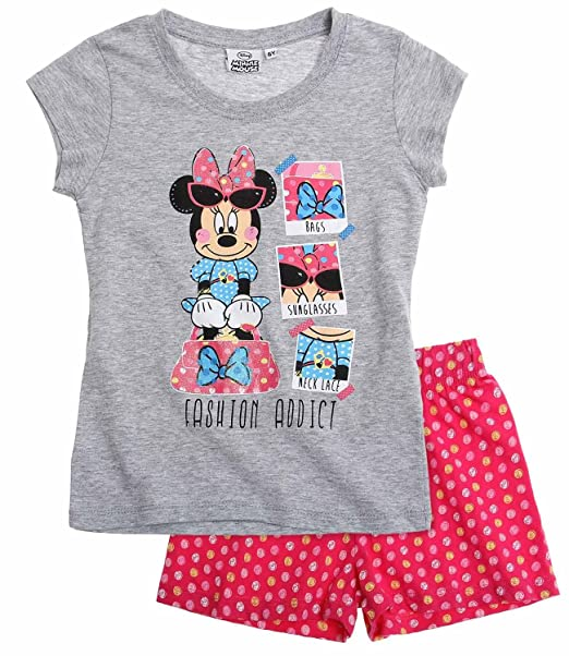 Disney Minnie Chicas Pijama corto - Fuxia - 116