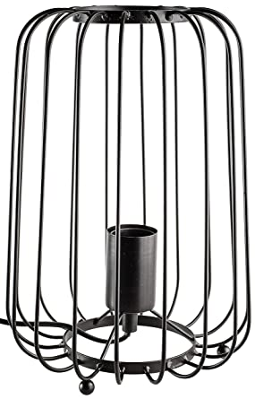 Tischleuchte Reda in Schwarz E27 220mm