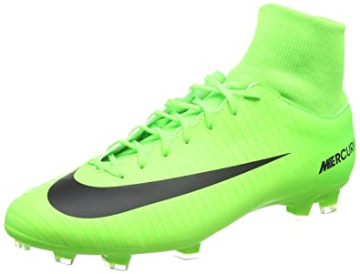 Nike Mercurial Victory VI SG, Chaussures de Football Entrainement Homme, Vert (Electric Green/Black-Flash Lime-White), 42.5 EU