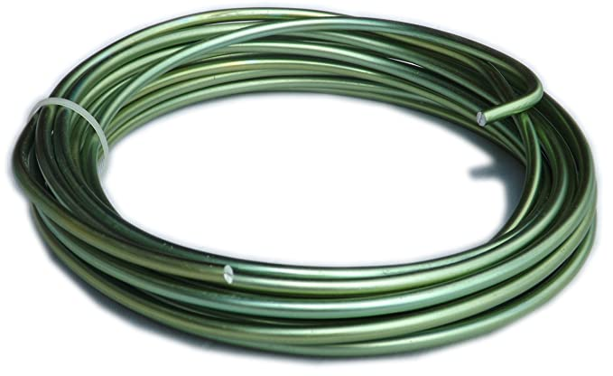 Farbiger Aluminium Draht 5 mm x 7,5 m – Lime: Amazon.de: Küche ...