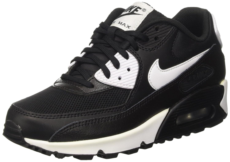 meilleures baskets 4d80a 39167 Nike 616730-023 Women AIR MAX 90 Essential Black/Metallic ...