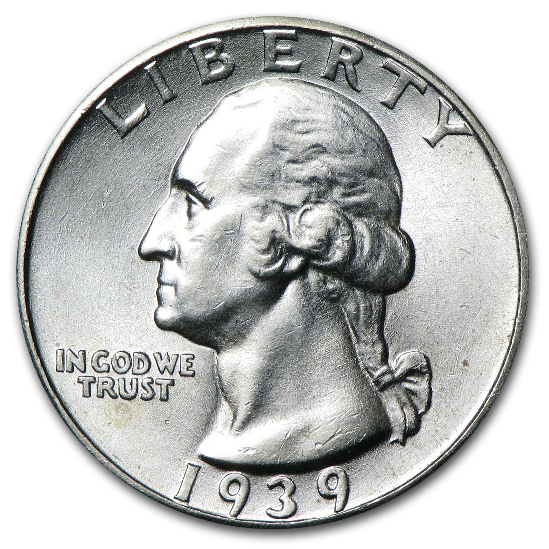 1960 D Silver Washington Quarter U.S Mint 90/% Silver Uncirculated B.U