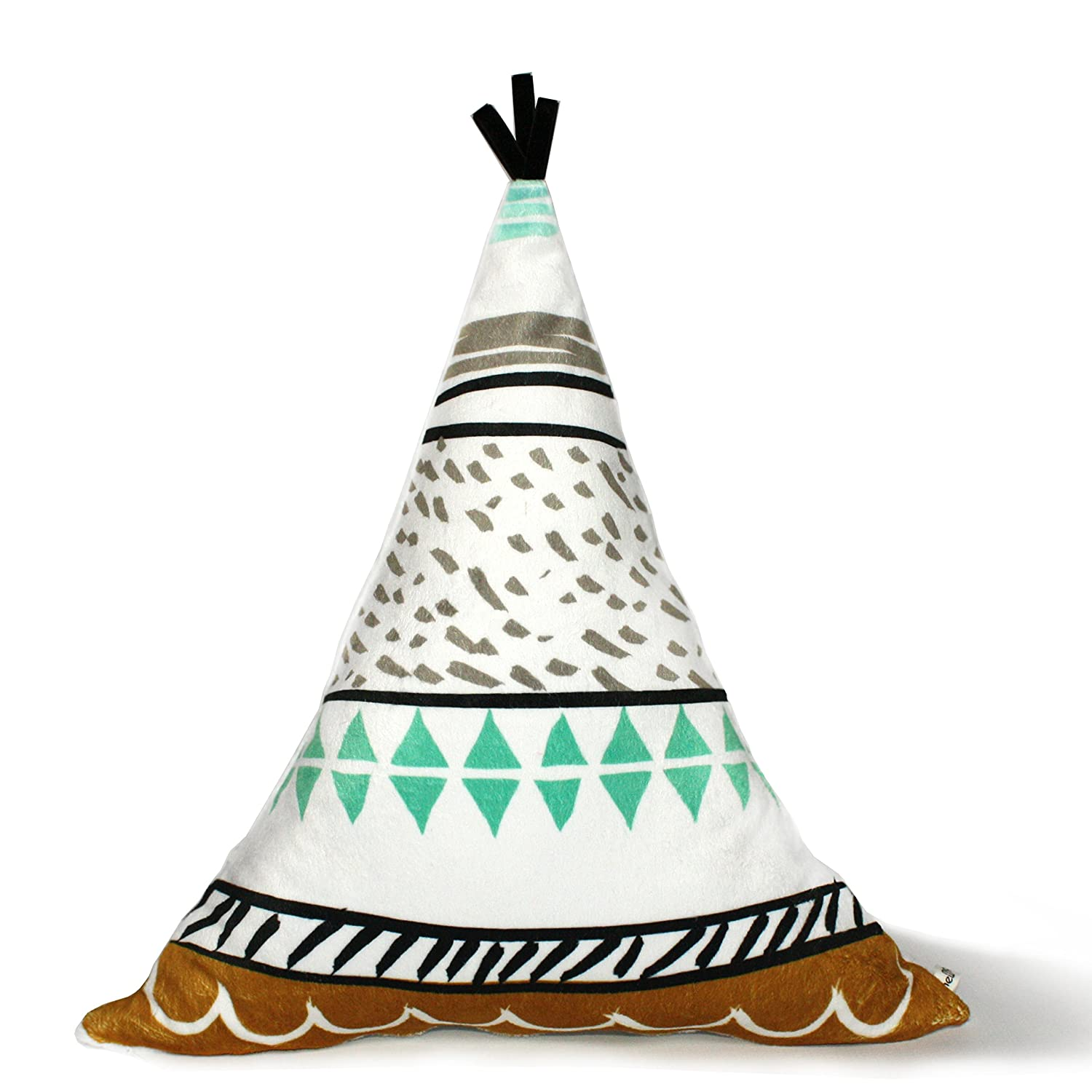 Decorative Nursery Pillow - Teepee Pillow -
