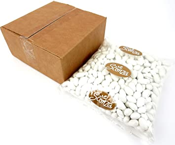 white jordan almonds 5 lb bag
