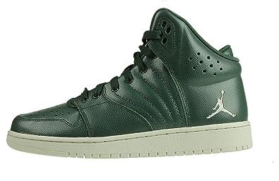 Nike 828237-300, Zapatillas de Baloncesto para Niños, Verde ...