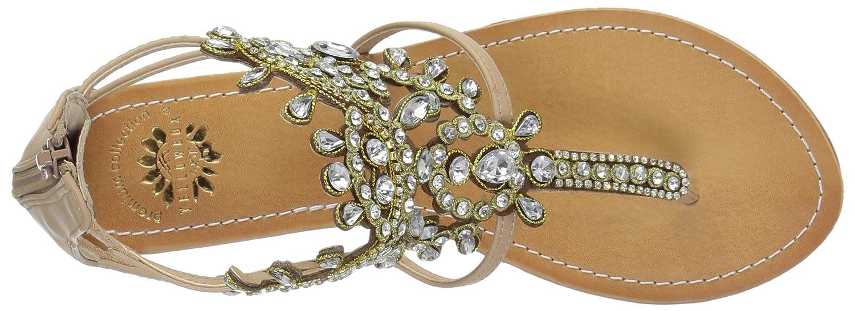 Yellow Box Women's P-Araminta Wedge Sandal B01D5DMW40 7.5 B(M) US Natural