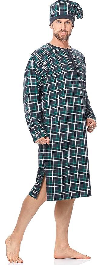 Cornette Camisón Camisones Pijamas Ropa para Hombre CR1102017: Amazon.es: Ropa y accesorios