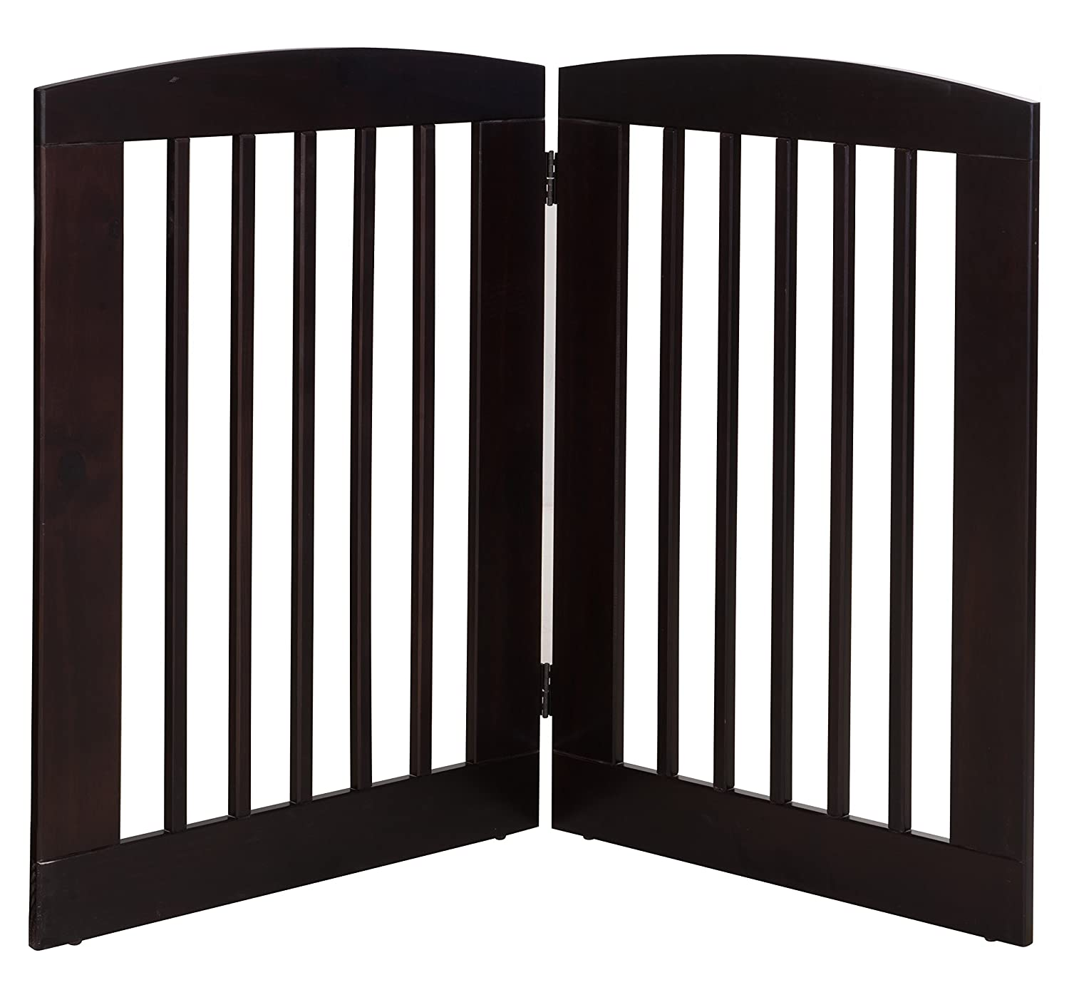 BarkWood Pets Freestanding Wood Pet Gate