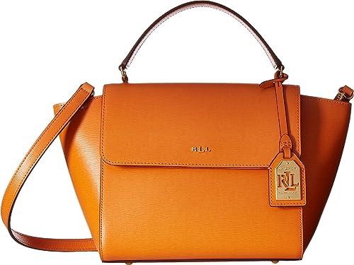 a51653475de7 LAUREN Ralph Lauren Women s Newbury Barclay Crossbody Sunset Crossbody Bag